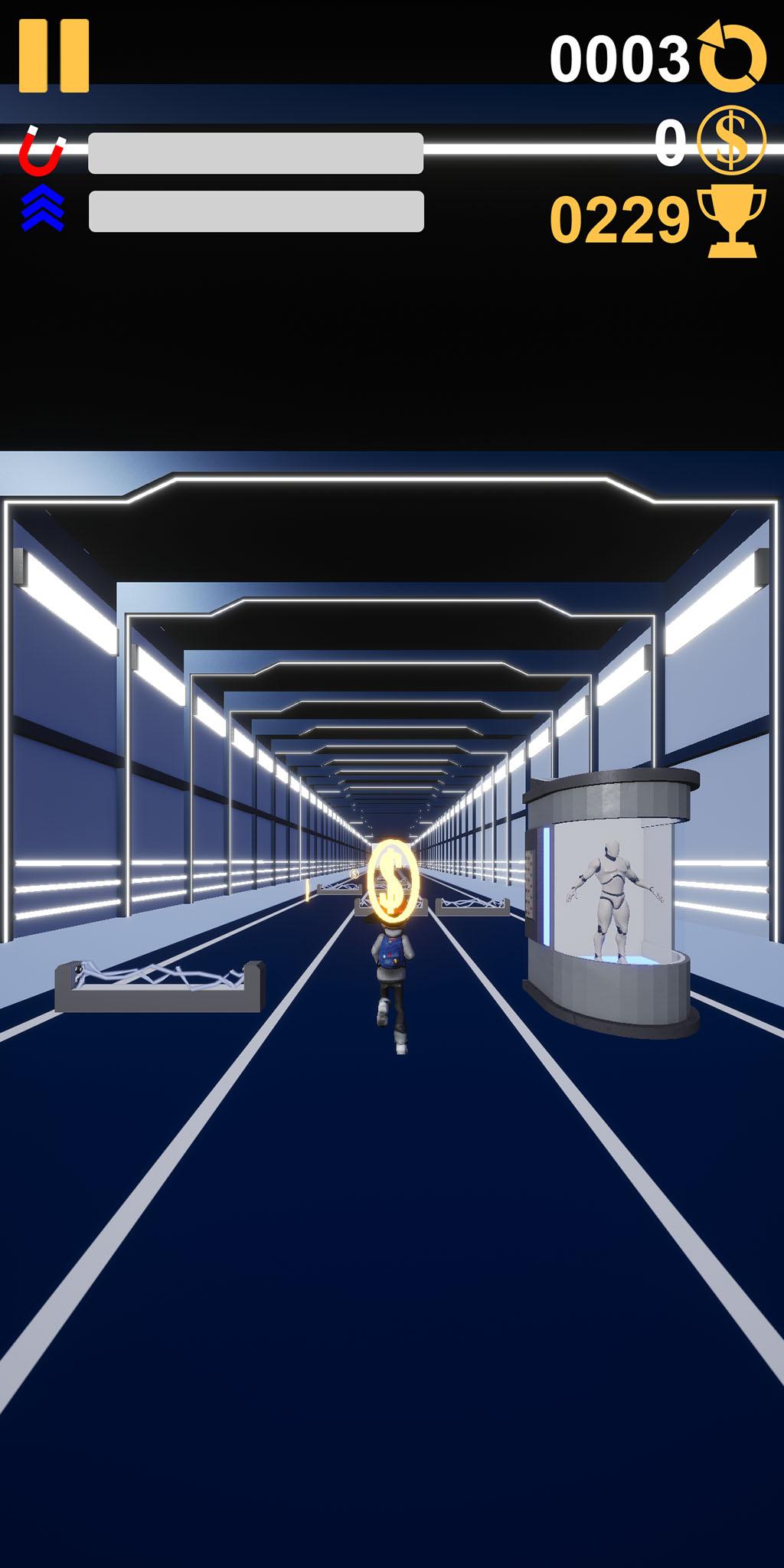 FrequencyIO Tunnel Runner Screenshot...